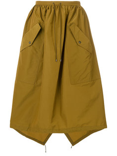 пышная юбка с карманами Kenzo