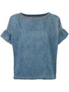 рубашка с оборками Alexis Current/Elliott
