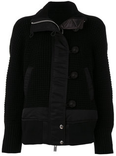 вязаная куртка Sacai
