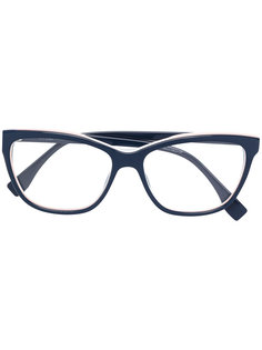 очки с квадратной оправе Fendi Eyewear