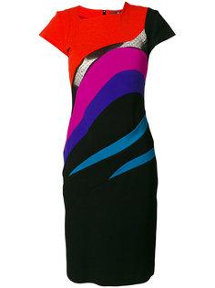 приталенное платье-миди  Capucci