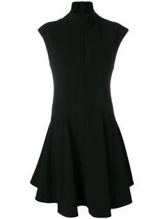 расклешенное платье с разрезом  Neil Barrett