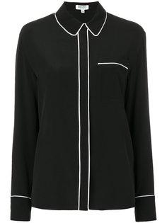 блузка с потайными пуговицами Kenzo