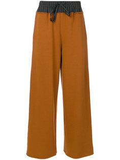 расклешенные брюки Mm6 Maison Margiela