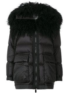 дутое пальто  Sacai