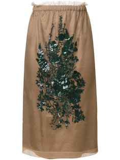 юбка с вышивкой  Nº21