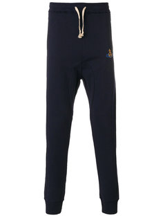 спортивные брюки с вышитым логотипом  Vivienne Westwood
