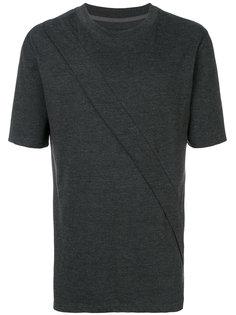 футболка с простроченной отделкой D.Gnak
