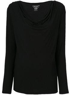 свитер с отвисающей горловиной Majestic Filatures