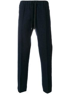 брюки с поясом на завязках Andrea Pompilio