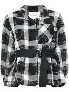 пиджак с приспущенными плечами и поясом Derek Lam 10 Crosby