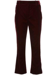 укороченные расклешенные брюки  Derek Lam 10 Crosby