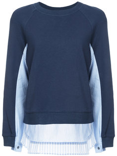 shirting knitted pullover Derek Lam 10 Crosby