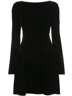 платье с длинными рукавами и шнуровкой Derek Lam 10 Crosby