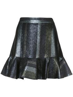 расклешенная юбка с оборками Derek Lam 10 Crosby
