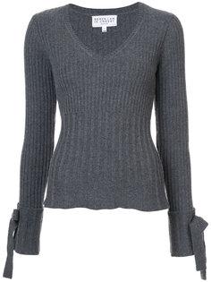 свитер с завязками на рукавах Derek Lam 10 Crosby
