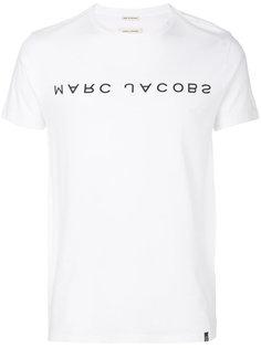 футболка с перевернутым логотипом Marc Jacobs