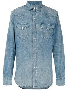 джинсовая рубашка в ковбойском стиле Polo Ralph Lauren