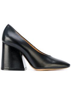 туфли на широком каблуке Maison Margiela