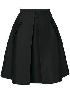 юбка А-образного силуэта со складками Nº21