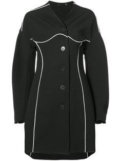 однобортное пальто Tome