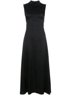 платье макси с высокой горловиной Tome