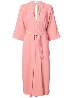 платье-халат с поясом Tome