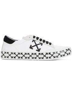 кроссовки с крестообразными стрелами Off-White