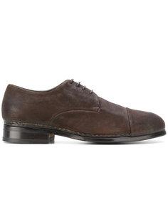 туфли со шнуровкой Measponte