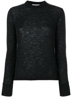свитер с молниями T By Alexander Wang