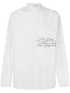 рубашка с принтом сердечного ритма Isabel Benenato