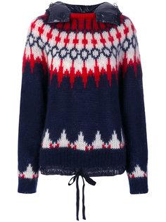 свитер с капюшоном Moncler