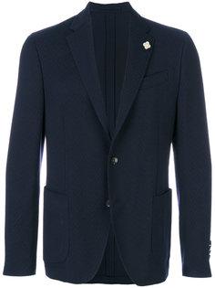 эластичный пиджак  Lardini
