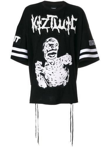 футболка с вышивкой 'Zombie ' KTZ