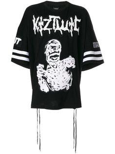 футболка с вышивкой Zombie  KTZ