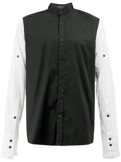 двухцветная рубашка Ann Demeulemeester