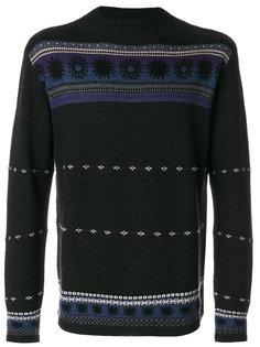 свитер с орнаментом Ps By Paul Smith