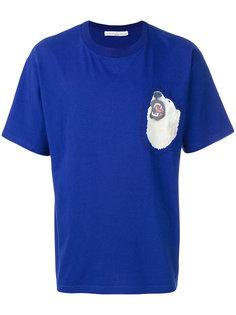 футболка с белым медведем Golden Goose Deluxe Brand