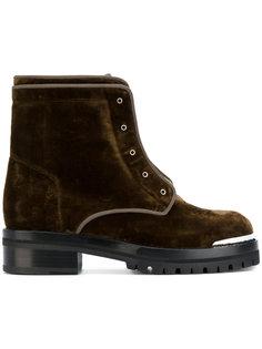 ботинки на молнии спереди Alexander McQueen