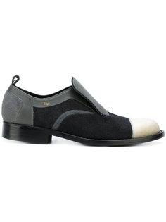 ботинки с панельным дизайном Comme Des Garçons