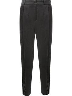 брюки с сатиновыми панелями Lanvin