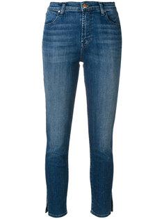 укороченные джинсы слим  J Brand