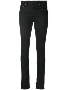 укороченные джинсы кроя слим Saint Laurent