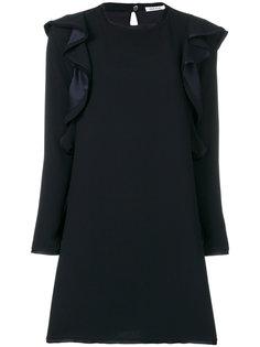 платье щифт с длинными рукавами  P.A.R.O.S.H.