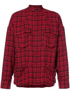 куртка рубашечного типа в клетку Haider Ackermann