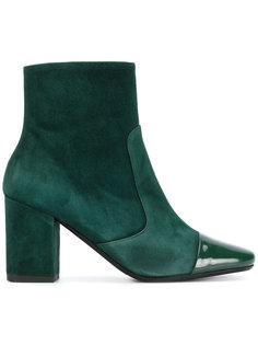 ботинки с лакированным носком Société Anonyme