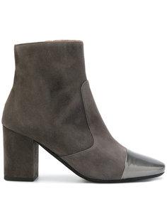 ботинки на наборном каблуке Société Anonyme
