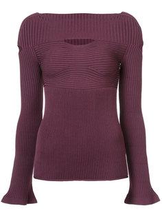 свитер с вырезными деталями Cushnie Et Ochs