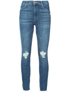 джинсы кроя слим с рваными деталями Mother