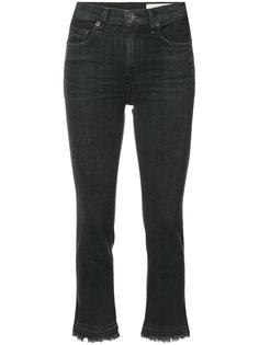 укороченные джинсы с необработанными краями Rag & Bone /Jean